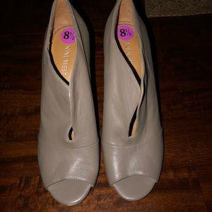 Nine West opened toe heels